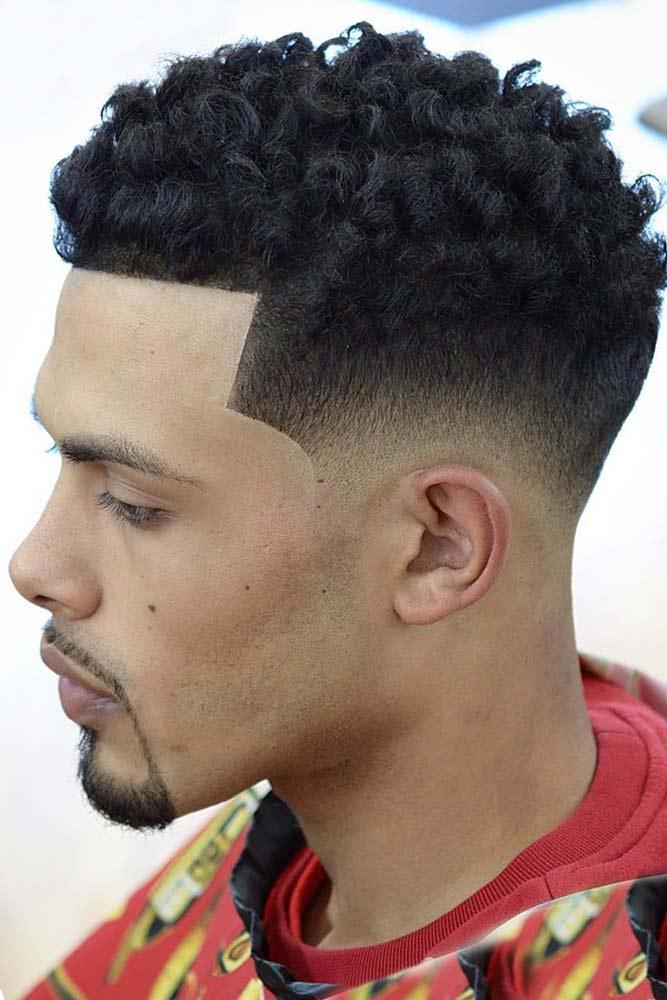 Curly Top And Mid Fade #hightopfade #fadehaircut #afrohair #afroamericanhaircut #spongehair #menshaircuts