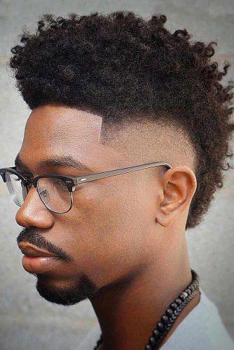 Mohawk Style #hightopfade #fadehaircut #afrohair #afroamericanhaircut #spongehair #menshaircuts