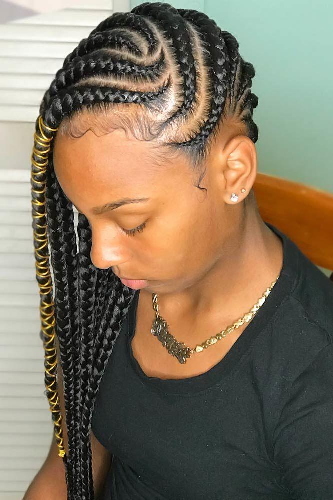 Lemonade Braids With Accessories Ties #braids #lemonadebraids