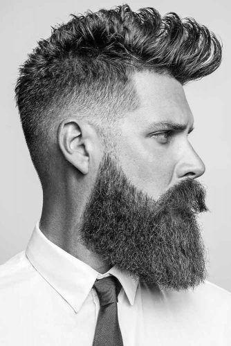 Temple Fade And Beard #beard #fullbeard #tempfade #templefade #fade #fadehaircut
