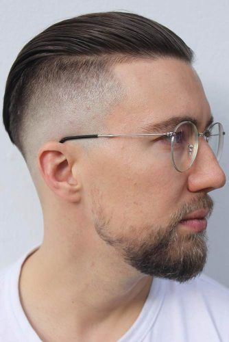Temp Fade With Slicked Back #undercut #slickback #tempfade #templefade #fade #fadehaircut