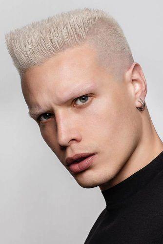 Flat Top Temp Fade Haircut #flattop #blondehair #tempfade #templefade #fade #fadehaircut