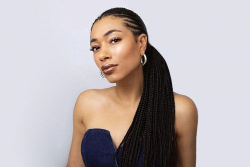 Trendy Black Braided Hairstyles That Catch People's Eyes & Keep Natural Hair Safe
