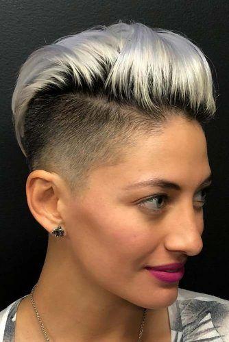 Pixie Hawk #undercutpixie #pixiehaircut #undercut #haircuts