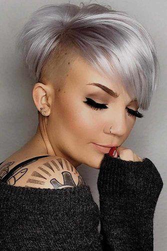 Straight Undercut Pixie #undercutpixie #pixiehaircut #undercut #haircuts