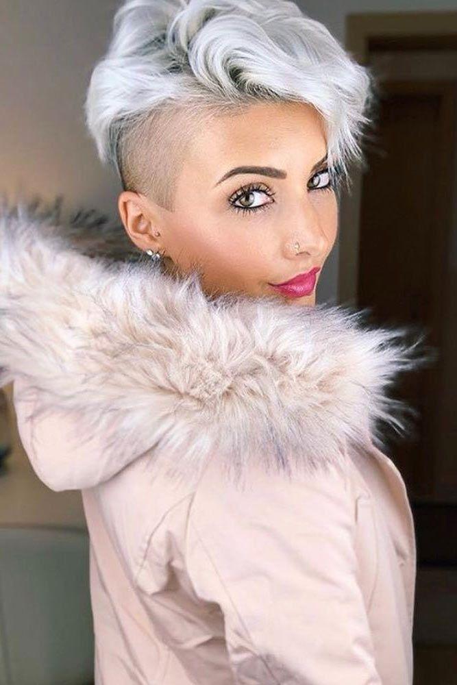 Wavy Undercut Pixie #undercutpixie #pixiehaircut #undercut #haircuts