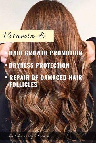 Vitamin E #vitaminsforhair #vitamins