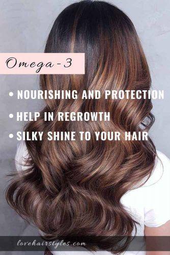 Omega-3 Fatty Acids #vitaminsforhair #vitamins