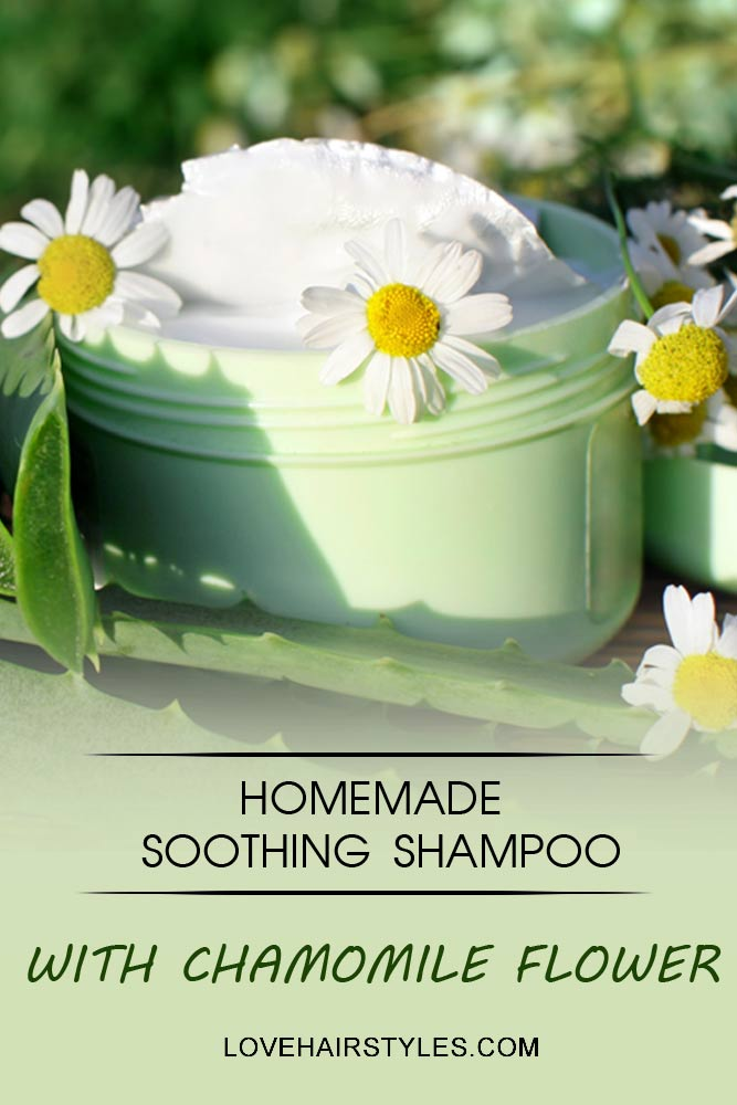 Soothing Shampoo Recipe #shampoo #shampootypes #hairproducts