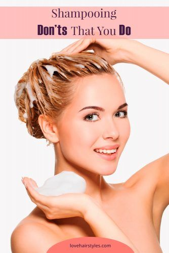 Shampooing Mistakes To Get Rid Of #shampoo #shampootypes #hairproducts