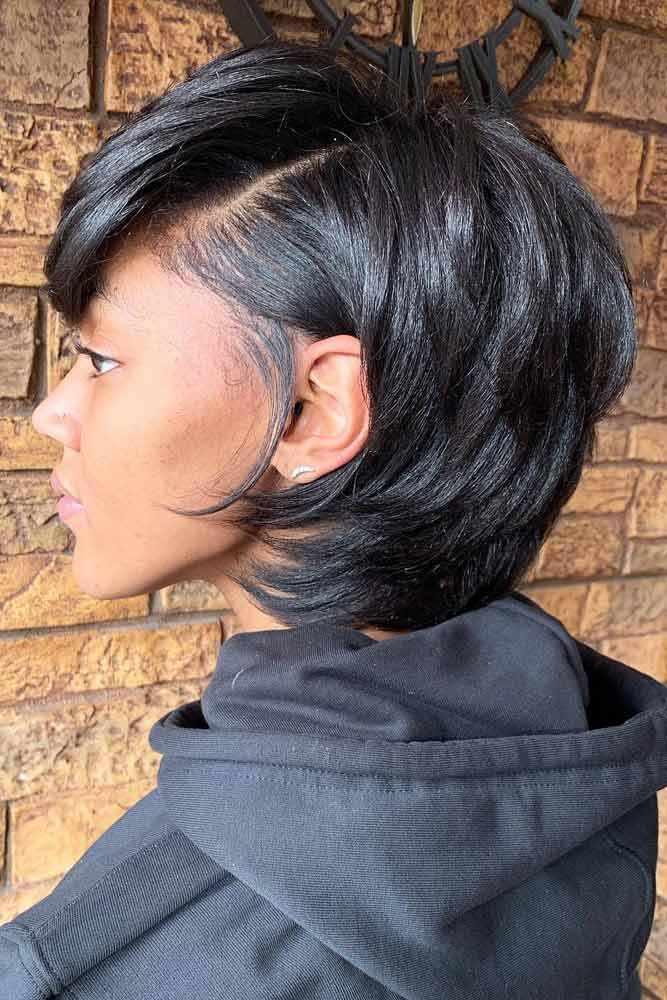 Layered Medium Bob #bobhairstyles #hairstyles #haircuts #bobhaircuts