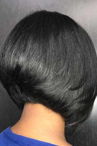 Wedge Short Haircut #bobhairstyles #hairstyles #haircuts #bobhaircuts