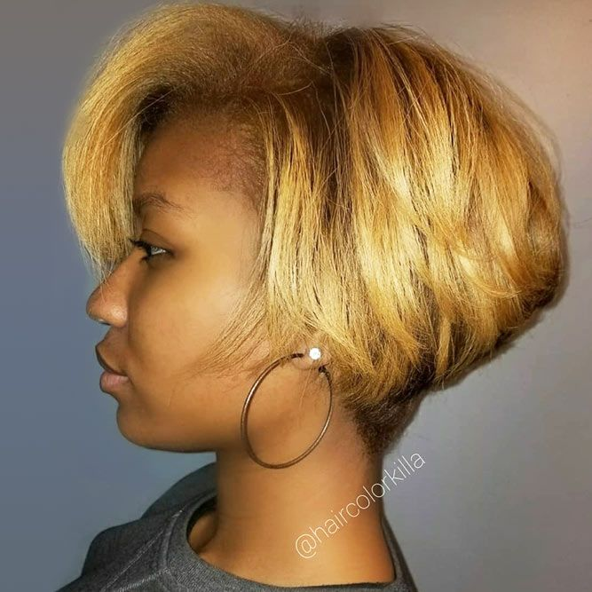 Short Stacked Pixie Bob #bobhairstyles #hairstyles #haircuts #bobhaircuts