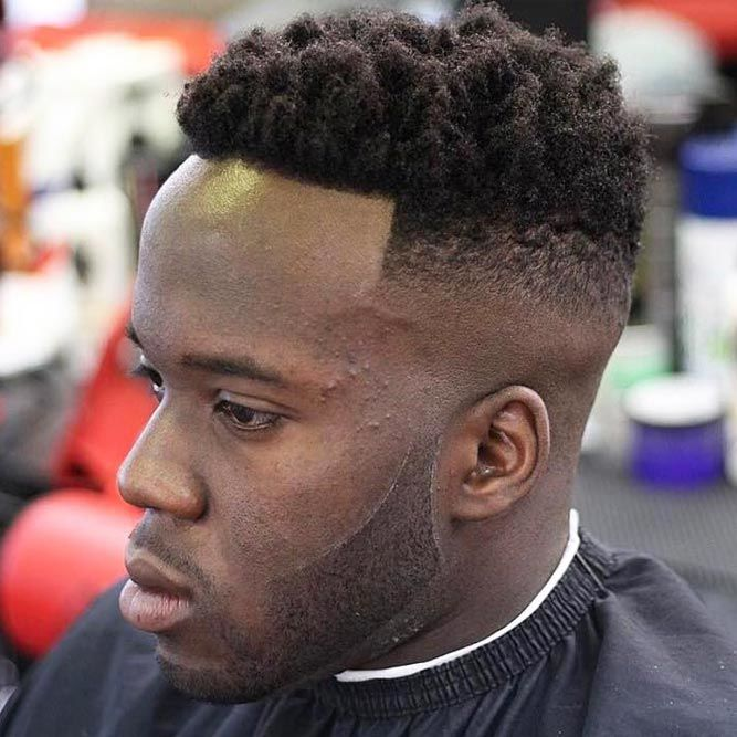 What Is The High Top Fade Haircut #hightopfade #fadehaircut #afrohair #afroamericanhaircut #menshaircuts