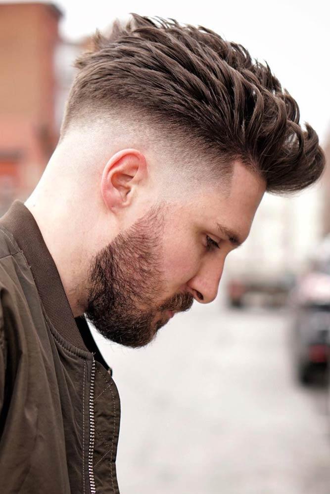 Spiked Hair #fadehaircut #hipster #hipsterhaircut