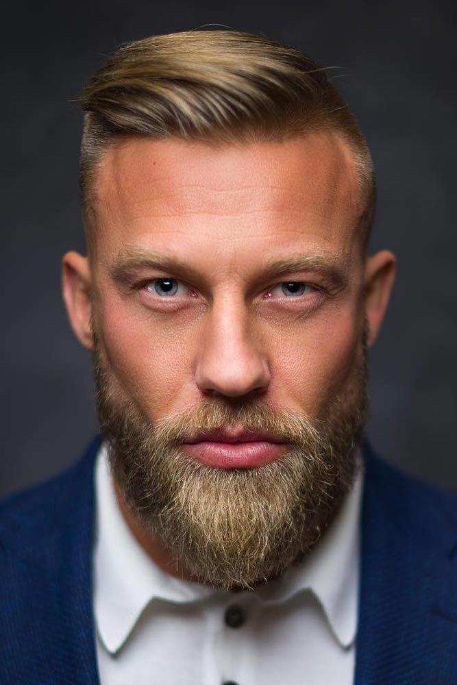Side Part + Beard #sidepart #hipster #hipsterhaircut
