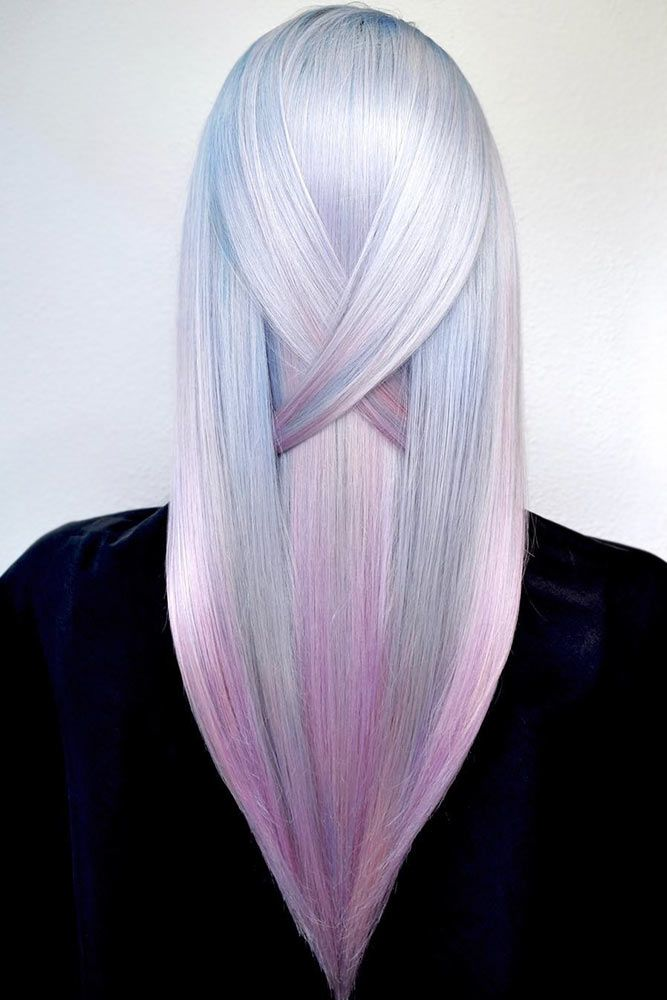 Crystal Pink #holographichair #pinkhair