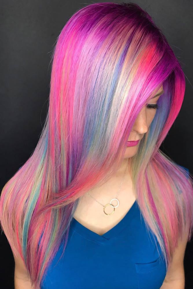 Fuchsia Holographic #holographichair