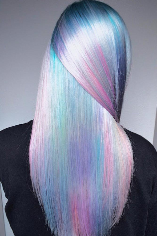 Holographic Hair Care Tips #holographichair #highlights