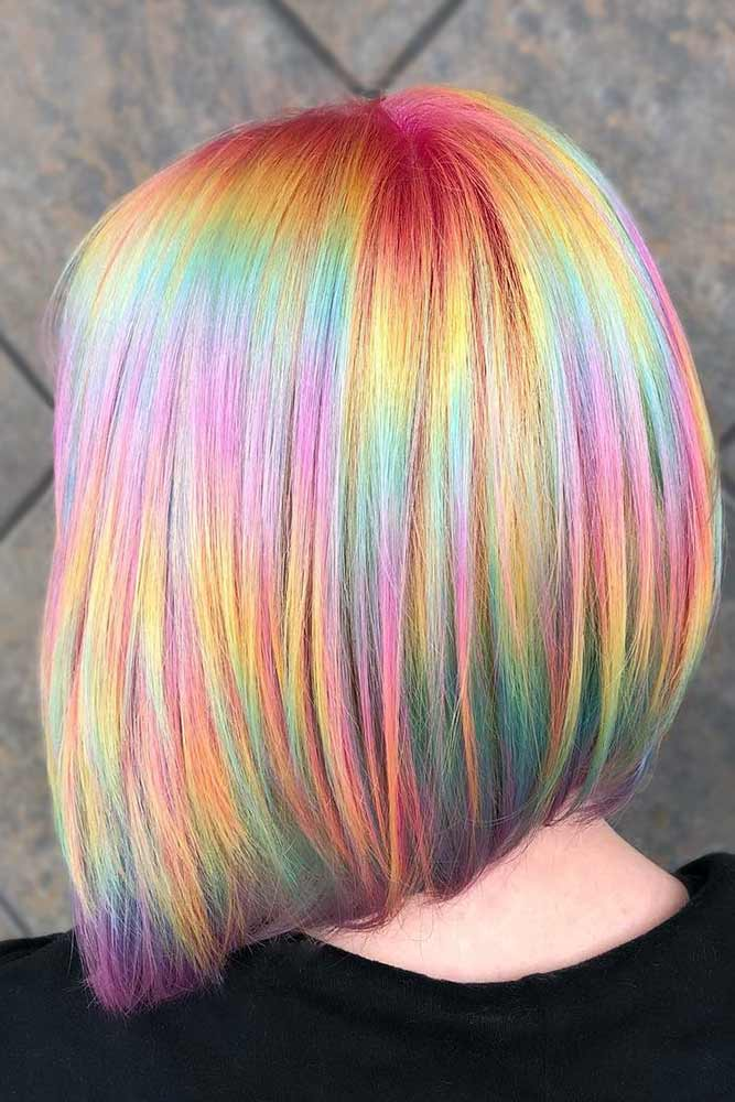 Vivid Holographic Melt #holographichair