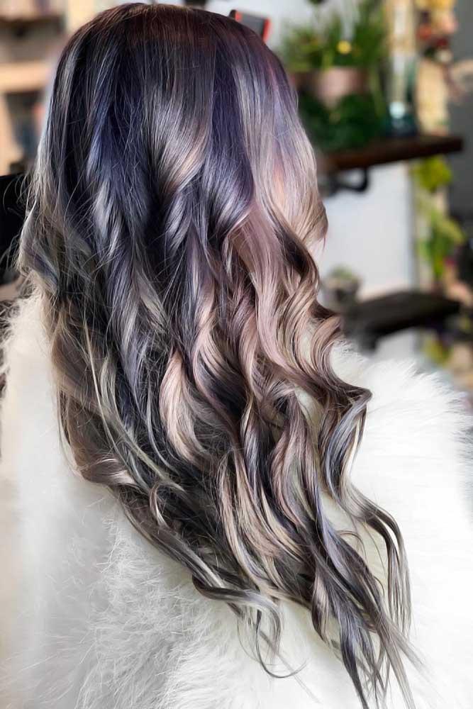Metallic Pastel Purple #holographichair