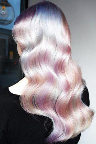Opal Hair #holographichair