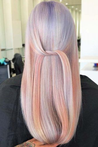 Opalescent Effect #holographichair
