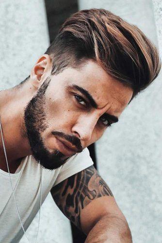 Short Sideburns Beard #sideburns #mensideburns #sideburnstyles