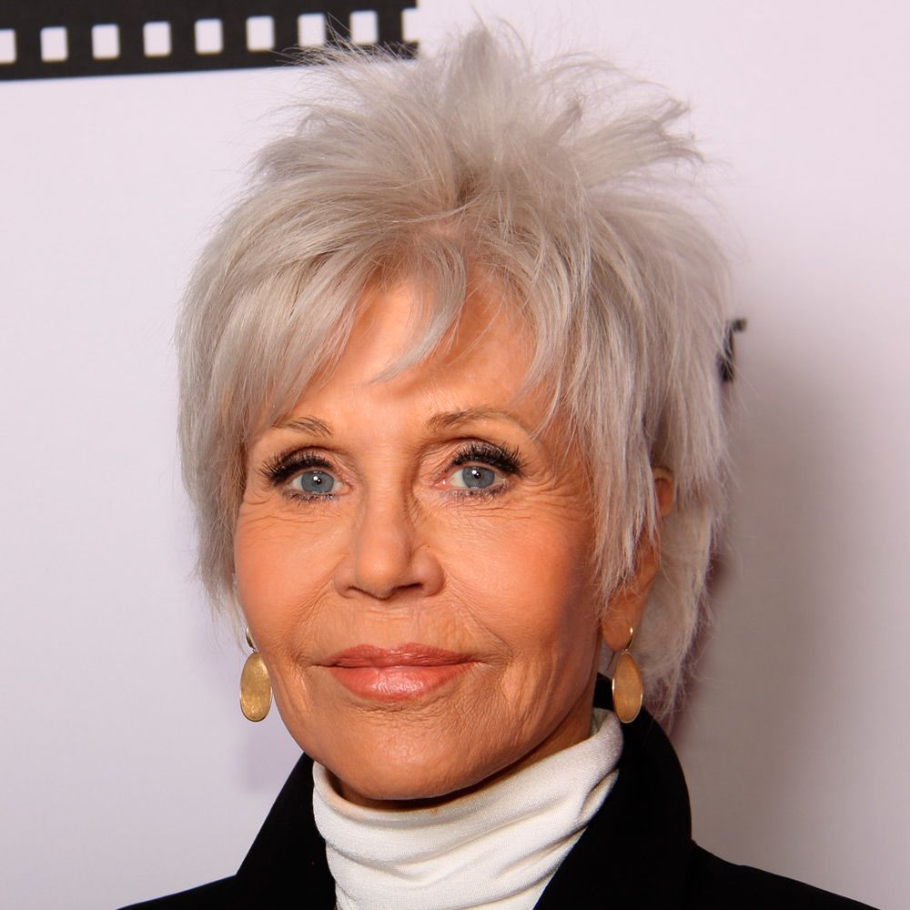 The Latest Silver Pixie Style by Jane Fonda
