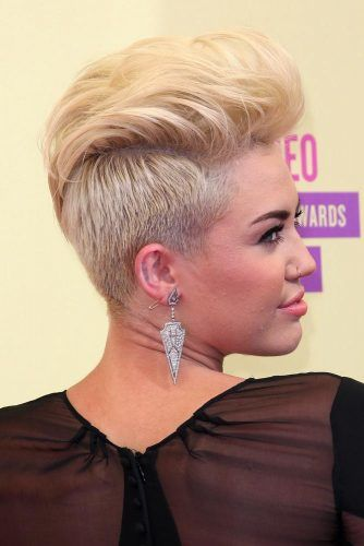 Pompadour Hairstyle #mileycyrus #shorthair #hairstyles