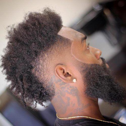 Burst Fade Mohawk #mohawkfade #fadehaircut #mohawk #menhaircuts #haircuts