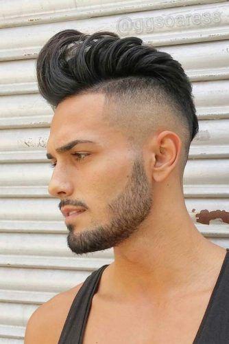 Pompadour Mohawk #mohawkfade #fadehaircut #mohawk #menhaircuts #haircuts