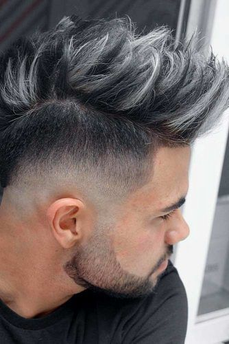 Tips For Styling A Mohawk Fade #mohawkfade #fadehaircut #mohawk #menhaircuts #haircuts