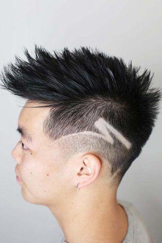 Spiky Mohawk #mohawkfade #fadehaircut #mohawk #menhaircuts #haircuts