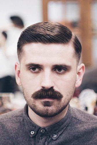 The Chevron Mustache #mustachestyles #mustache