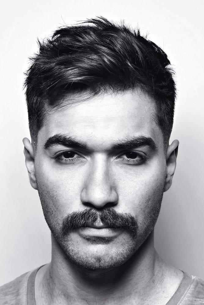 The Dallas Mustache #mustachestyles #mustache