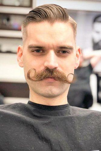The Handlebar #mustachestyles #mustache
