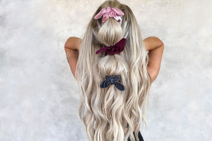 Trendy Ways To Use Good Old Scrunchies: Chic Hair Ties & Styles To Try Today