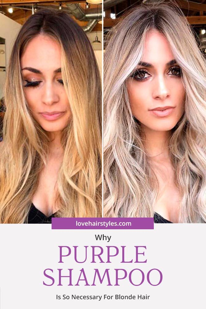 Purple Shampoo Before And After Why Is Purple Shampoo For Blonde Hair Is SO Necessary #purpleshampoo #shampoo #hairproducts