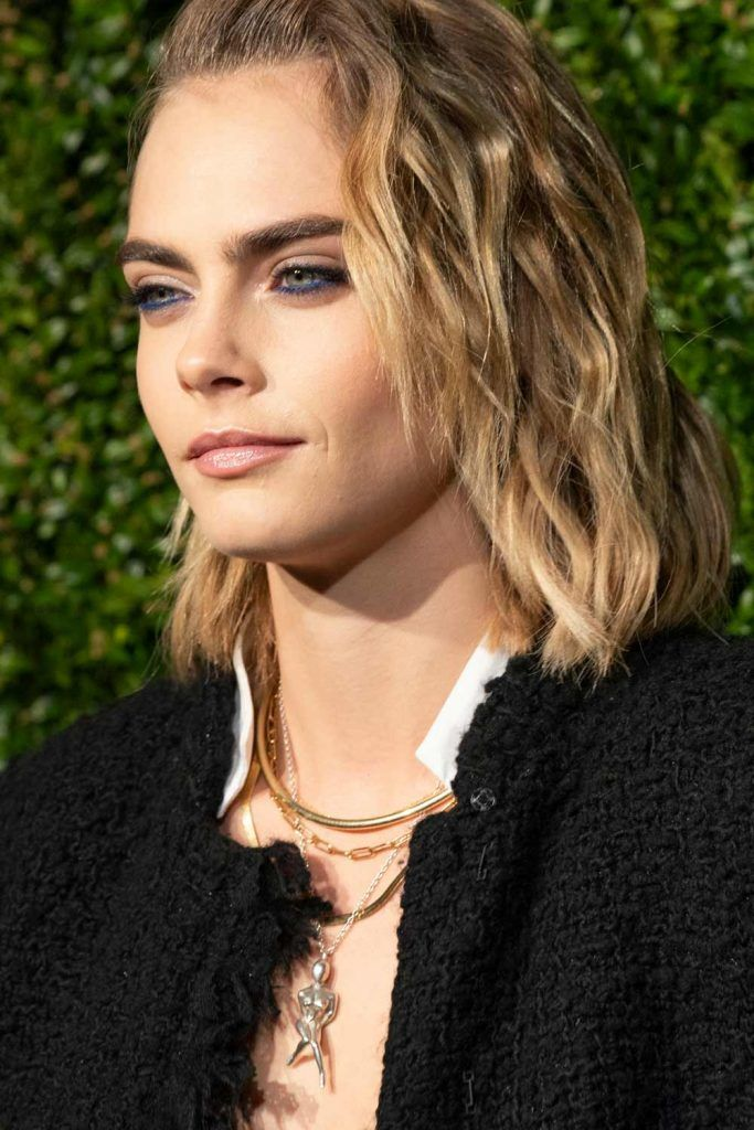 The Androgynous Hairstyles: Cara Delevingne