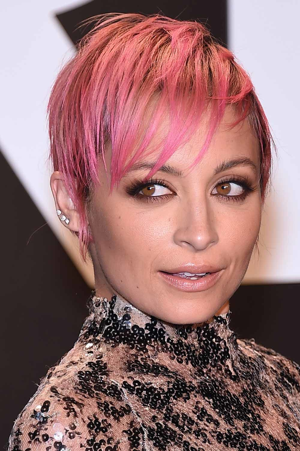 The Androgynous Hairstyles: Nicole Richie