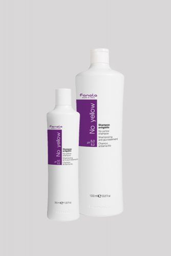No Yellow Shampoo #purpleshampoo #shampoo #hairproducts