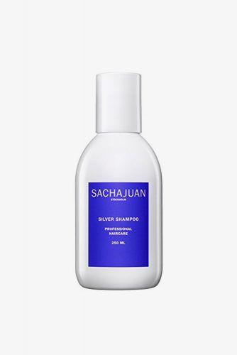 Sachajuan Silver Shampoo #purpleshampoo #shampoo #hairproducts