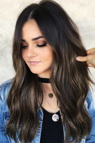How To Highlight Your Hair #brunette #highlights