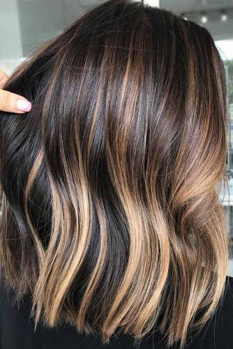 Caramel Dimensions #brunette #highlights