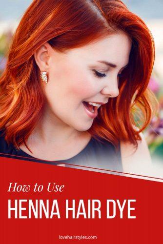 How to Use Henna Hair Dye