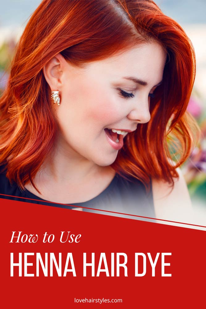 How to Use Henna Hair Dye
