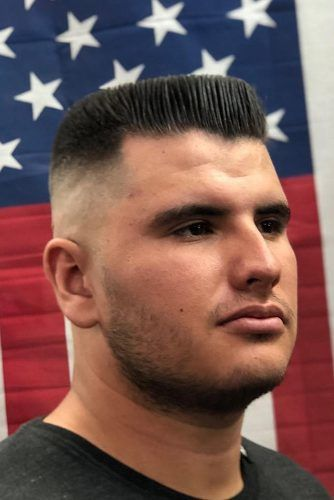 The Flat Top #militaryhaircut #menhaircuts #haircuts