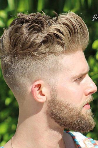 Brushed Back With High Volume #quiff #quiffhaistyle #hairstyles #haircuts