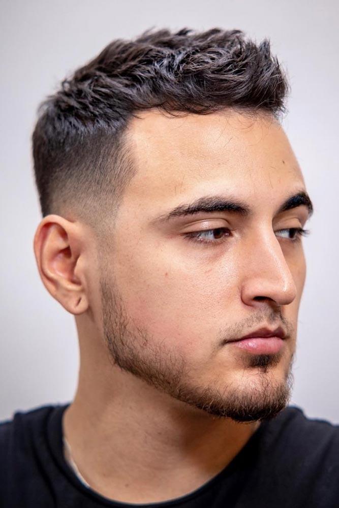 Short Quiff Fade #quiff #quiffhaistyle #hairstyles #haircuts